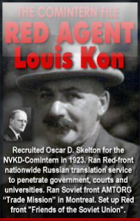 Red Agent Louis Konarski (aka Louis Kon)