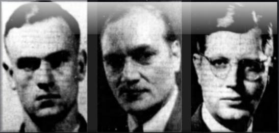L-R: Igor Gouzenko, John Grierson, Herbert Norman